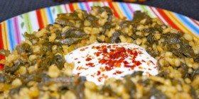 Kavrulmuş Ispanak Kökü Yemeği Tarifi
