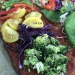 Karnabahardan pizza hamuru nasıl yapılır? (VEGAN) 3